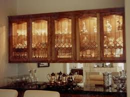 Living Room Cabinets With Glass Doors Kitchen Cabinet Glass Doors The European Style Kitchen Glass