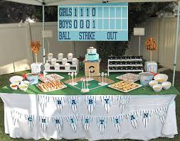 baby shower baseball theme yankees baseball themed baby shower halfpint party design