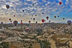 air ballooning and cave hotels cappadocia turkey