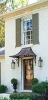 Awnings Cost Build Front Door Portico Diy Cost Copper Awnings Awning Front Door