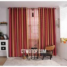 Orange And White Striped Curtains Gorgeous Orange Striped Curtains And Unique Striped Orange And