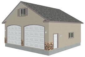 impressive 3 car garage plans inside cheap articledetached with