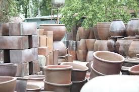 garden outdoor planter vietnam rustic terracotta pots wholesale