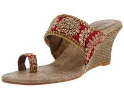 wedding shoes online india bridal footwear indian wedges shoes bridal