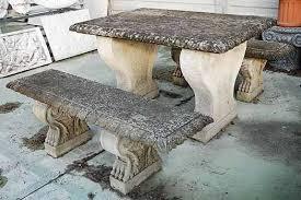 tavolo da giardino prezzi tavoli e panche da giardino da giardino in pietra vendita
