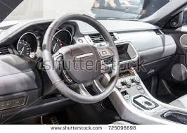 Steering Wheel Upholstery Serbia Belgrade March 29 2017 Interior Stock Photo 612956981