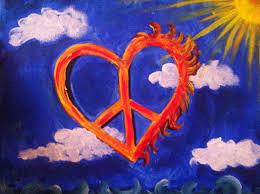 colorful peace signs wallpaper wallpapersafari