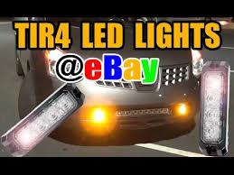 Ebay Led Lights Ebay Emergency Led Lights Review Youtube