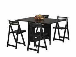 Folding Dining Room Chair Furnitures Collapsible Dining Table And Chairs New Fold Away