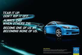 car advertisement scion print advert by attik tc streak ads of the world