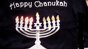 channukah sweater lighted chanukah sweater by skedouche hanukkah sweater