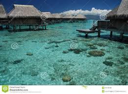 polynesian overwater bungalows moorea french polynesia royalty