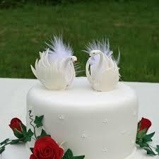 swan wedding swan wedding cake toppers wedding corners