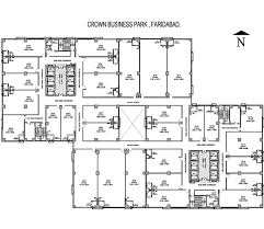 Floor Plan Business Crown Group Faridabad Floor Plans Crown Business Park