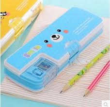 pencil box smile pencil box with sharpener pencil box factory