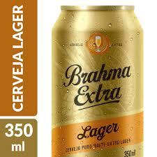Famosos Cerveja BRAHMA Extra Lager Lata 350ml &OK53