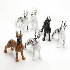great dane ceramic figurine statue handmade home decor 00011