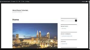 wordpress search layout wordpress tutorial sidebar layout youtube