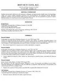 Esthetician Resume Cover Letter Cv Template For Medical Residency