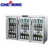 beer refrigerator glass door wine cooler mini fridge beer cooler top counter bar storage