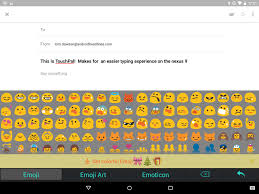keyboard emojis for android sponsored app review touchpal emoji keyboard androidheadlines