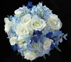 blue wedding bouquets winter wedding bouquets nature nook florist