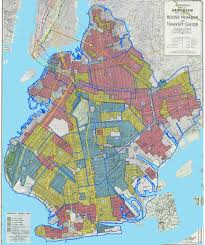 Nyc City Map Brooklyn U0027s 1938 U201credline U201d Map Planyourcity