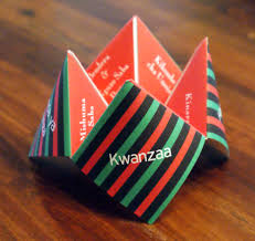 kwanza decorations kwanzaa cootie catcher kwanzaa decoration happy kwanza