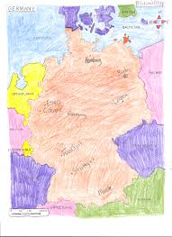 Germany Political Map by Ljhsekrueger Licensed For Non Commercial Use Only Maps