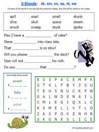 15 page colorful consonant blends worksheets 1 80 on tpt or