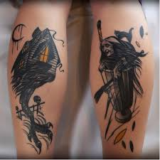 15 legendary baba yaga tattoos tattoodo