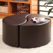 Upton Home Coffee Table Upton Home Crestfield Brown Coffee Table Storage Ottoman Set