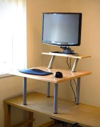 stand up desk attachment
