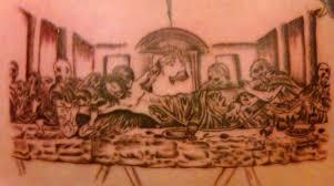 zombie last supper tattoo by xxmatt thomasxx on deviantart