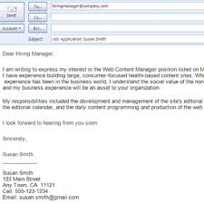 brilliant ideas of how to format a query letter in an email with