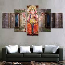 Wall Paintings For Living Room Ganesh Wall Painting Promotion Shop For Promotional Ganesh Wall