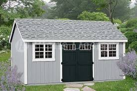 garden tool storage shed plans 10 u0027 x 20 u0027 gable roof d1020g free