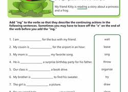 subject verb agreement worksheets education com