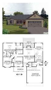 Cool House Plans Garage by 48 Best Craftsman Home Plans Images On Pinterest House Floor