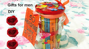 Homemade Valentine Gifts For Him by Valentines Day Gift Idea Diy Gift Ideas For Him Men 50 Reasons