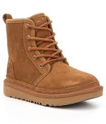 womens ugg boots dillards ugg boys harkley suede boots dillards