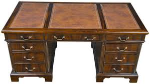 Solid Wood Executive Office Furniture by Mahogany And More Desks