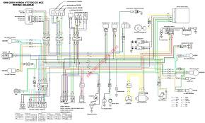 honda shadow vt1100 wiring diagram wiring diagram and schematic