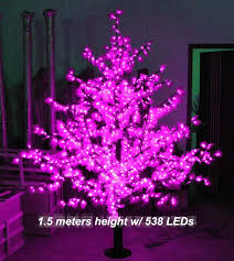new led outdoor light led maple tree lights 1 5 meter 538 leds