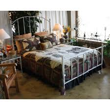 Iron Rod Bed Frame Bedroom Rod Iron Beds King Glamorous Wrought Iron Frames Pine