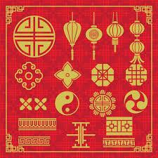oriental design oriental icons design vector free download