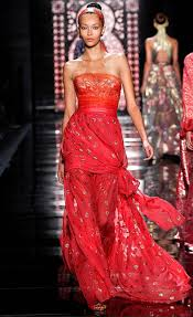 of the gowns highlights from nyfw reem acra 2016 rtw très haute