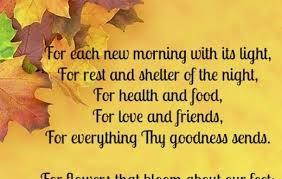 thanksgiving prayers heaven thanksgiving blessings