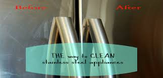 the best way to clean stainless steel appliances ask