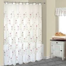 sheer fabric shower curtain foter